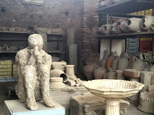 Pompeii day trip with walks of italy