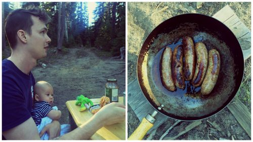 tips for camping with ba