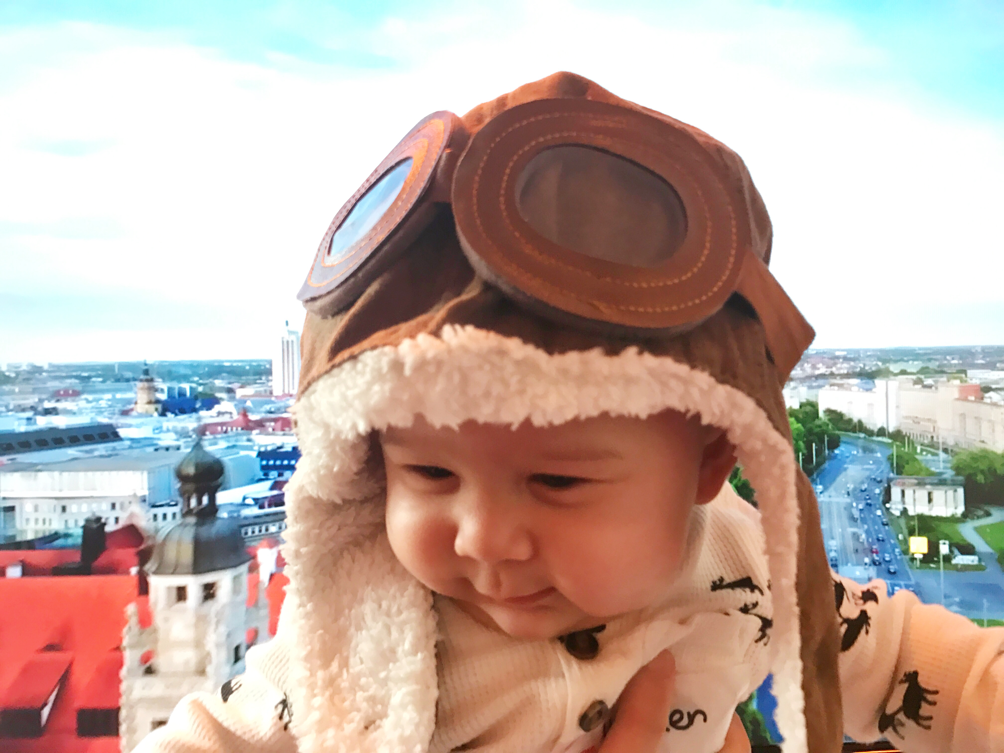 Tackling flying with an infant