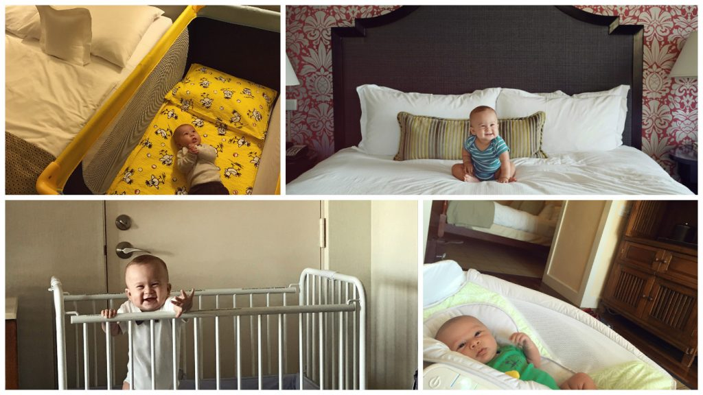 tips for staying in hotel with baby