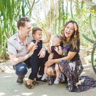 Palm Springs getaway with two toddlers